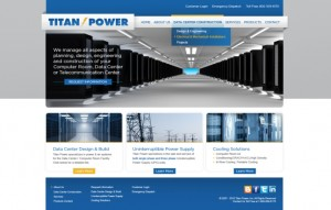 Titan Power's New Website